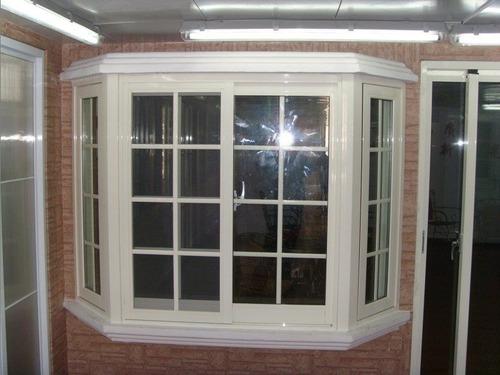 ventiluz-de aluminio blanco 100x36-vidrio,reja y mosquitero