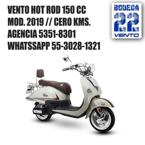 vento hotrod hot rod 2019 nueva 0kms placa y casco gratis