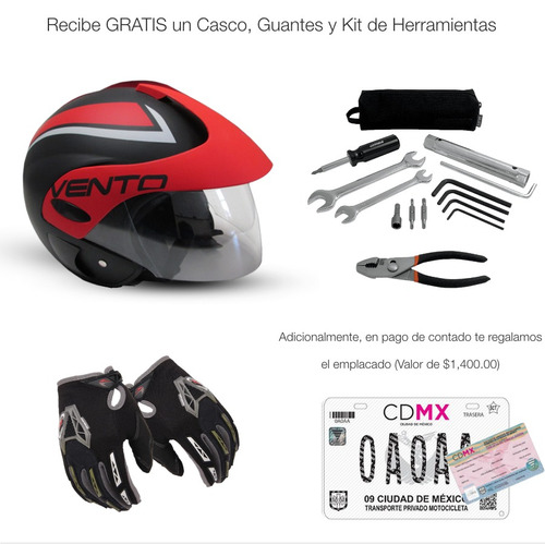 vento hotrod hot rod 2019 nueva 0kms placa y casco gratis
