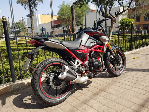 vento nitrox 250 cc con suspension de barras invertidas