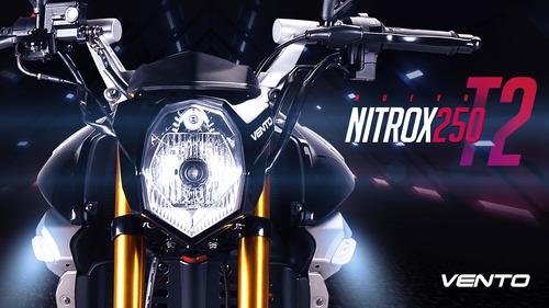 Vento Nitrox T2 250 Nuevas 2020 Placas Gratis Y Meses 0