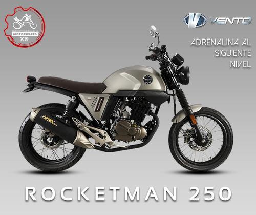 vento rocketman 2019 nuevecita motor 250 c.c. reestrenela