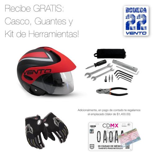 vento thriller 2020 12 meses placa gratis casco nueva moto