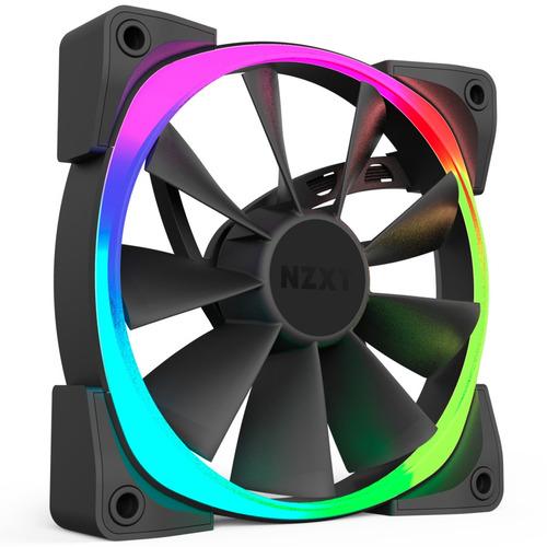 ventoinha nzxt aer rgb 140mm  rgb led fans | pack 1-pc