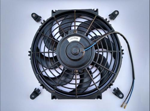 ventoinha ventilador universal 10 polegada 12v 80w aspirante