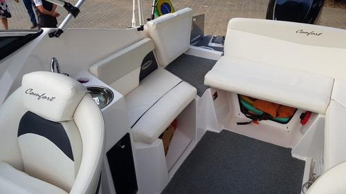 ventura 215 2018 c/ motor optimax 150hp 2006 virtual nautica