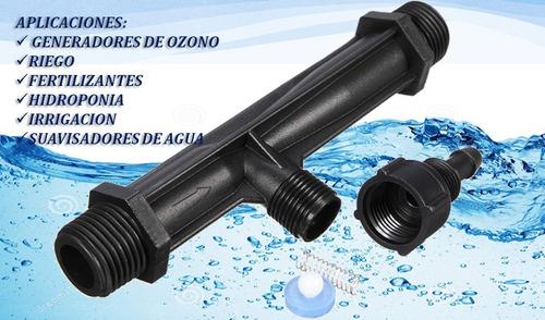 venturi 1   hidroponia, ozono, acuicultura, fertilizantes