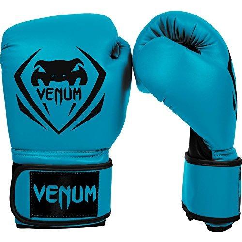 venum contender guantes de boxeo - azul - 16 onzas