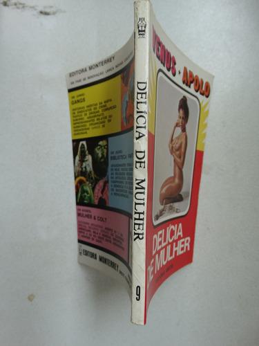 venus apolo nº 9! editora monterrey 1979! bolsilivro!