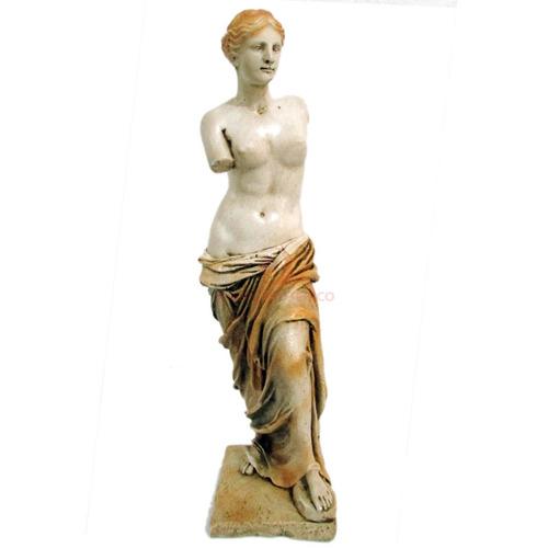 venus de milo 28cm estátua em resina