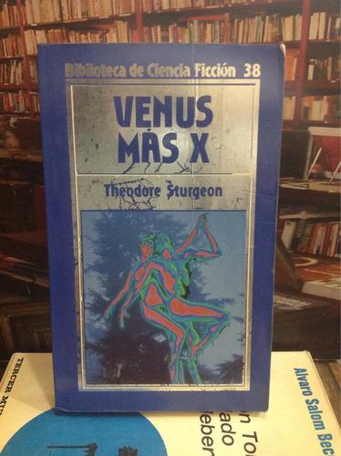 venus más x. theodore sturgeon. novela ficción
