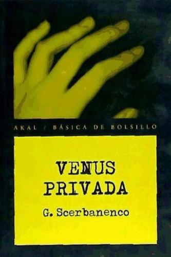 venus privada(libro novela y narrativa extranjera)