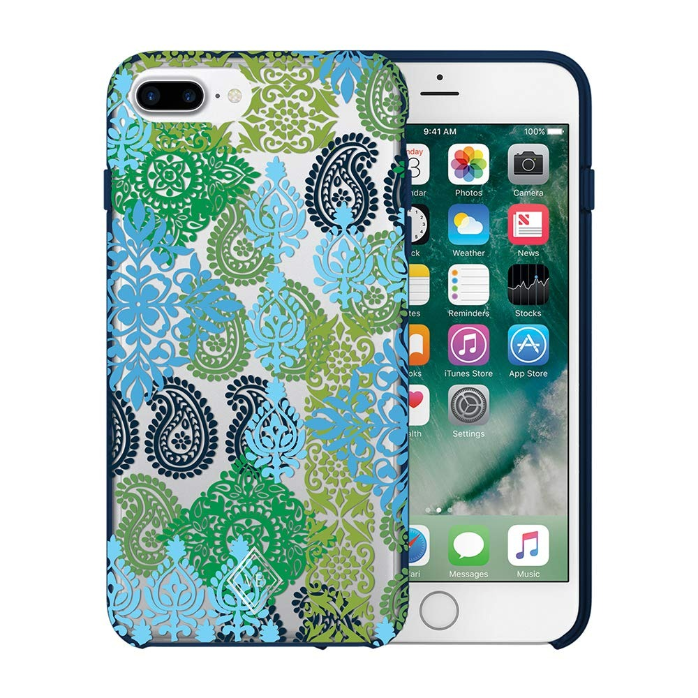 sports shoes a8636 824e3 Vera Bradley Flexible Frame Funda Para iPhone 8-plus, iPhone