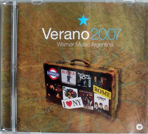 verano 2007-  2 cdspromo nacional - 1 cd latino - 1 cd anglo
