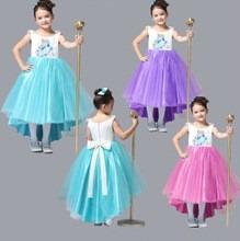 verano 2014 vestidos frozen tulle para ninas 4 a 8 anos