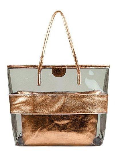 estética de lujo colores armoniosos estilo máximo Verano Semi Transparente Bolsos De Playa Grande Bolsos Bolsa