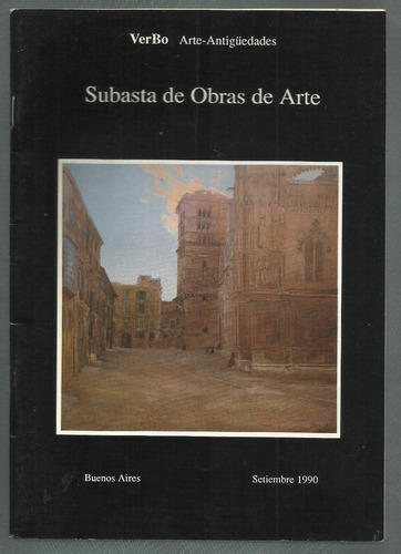 verbo: subasta de antigüedades. bs.as., 1990.
