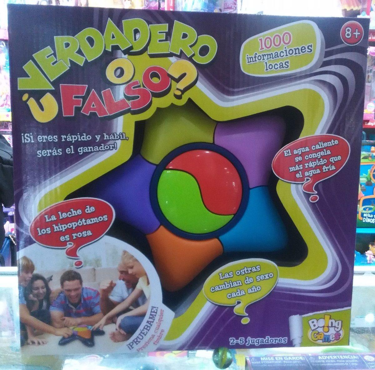 Verdadero O Falso Juego De Mesa Boing Toys 12572 99 900 En