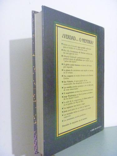 verdades y mentiras. selecciones reader's digest. 1990.