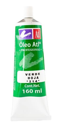 verde hoja nº.214 oleo atl 160 ml pintura arte rodin
