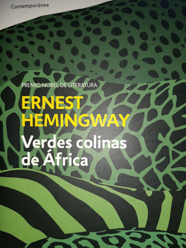 verdes colinas de africa / hemingway