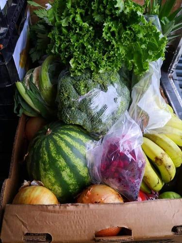 verdura fresca hasta su casa