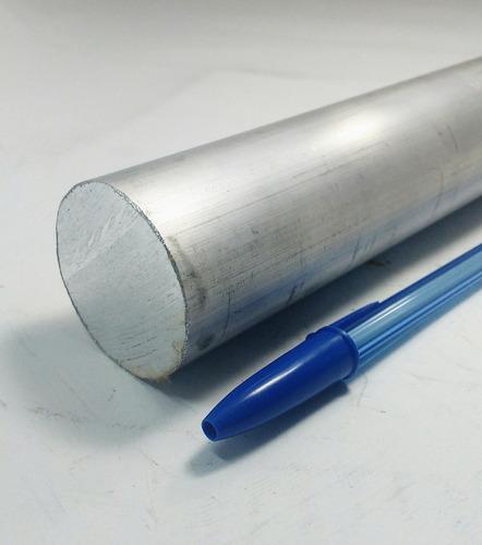 vergalhao redondo aluminio 1.1/2 (38,10mm) c/ 20cm