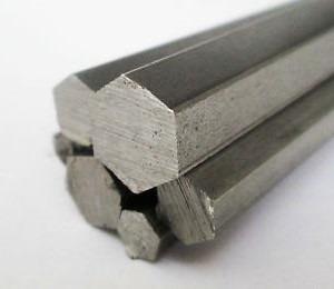 vergalhao sextavado aluminio 1 (25,40mm) c/50cm
