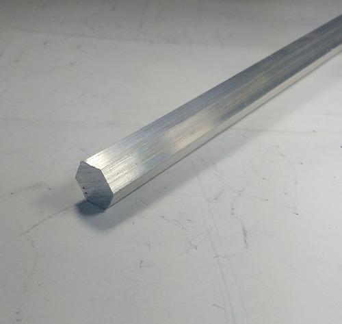 vergalhao sextavado aluminio 1/2 (12,70mm) c/ 1 mt