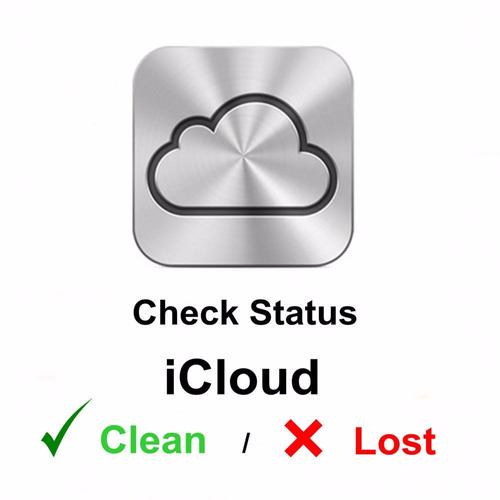 verificar estado icloud (clean, lost, erased)