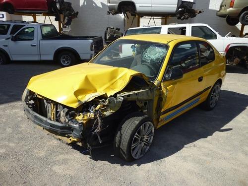 verna 2006 accidentado ,standar,motor 12v,partes