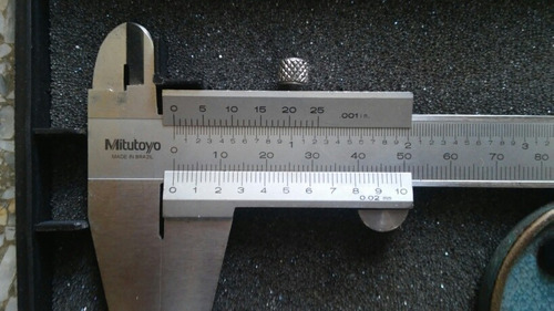 vernier y tornillo micrometrico mitutoyo