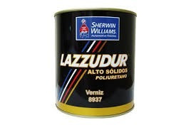 verniz automotivo 8937 lazzuril alto solido 900ml c/ end.