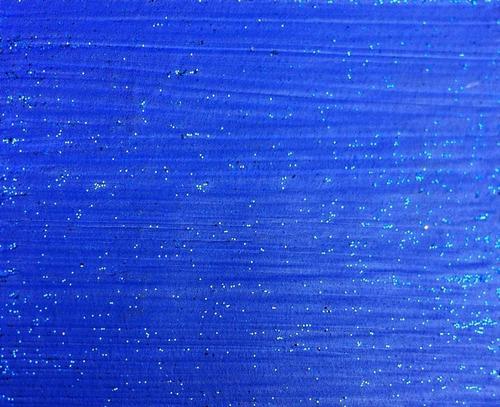 verniz com glitter p/ paredes 3,6 l luminuz cromanil - azul