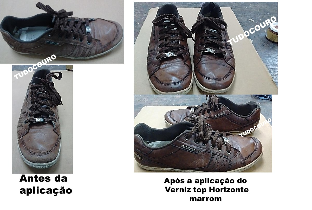 fddbf4bb4 Verniz Top, Brilho Couro, Renovar Couro, Graxa Sapato, 200g - R$ 16 ...
