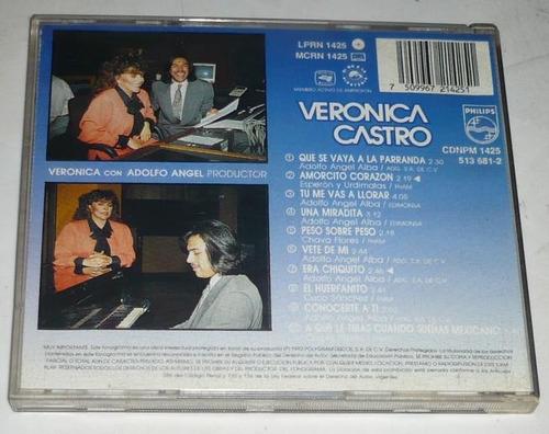 veronica castro cd romantica y calculadora