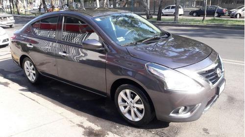 versa 2016 advance 1dueño cam de reversa rines acepto auto