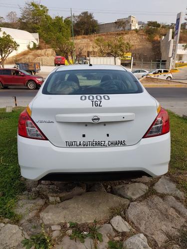 versa drive mt 2019 taxi desde $195 pesos diarios estrena