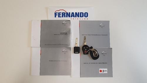 versa sl 1.6 16v flex manual 4p