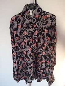 dd98fc534 Camisa Estampa Len O Zara Estilo Versace - Calçados