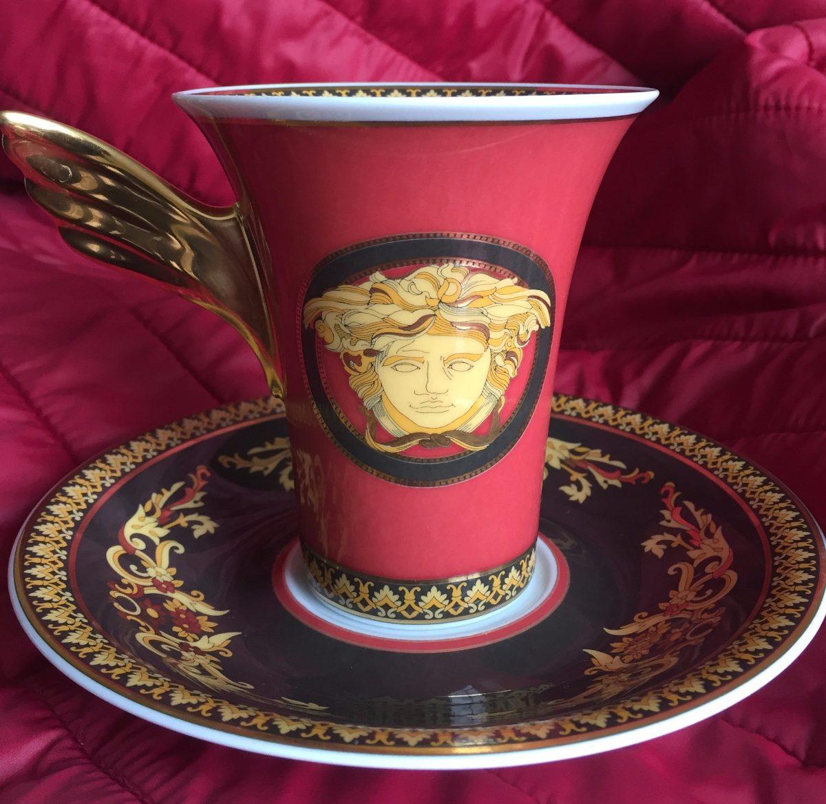 Versace Ikarus Medusa - Coffee Cup - Plato & Taza - U$S 250,00 en ...