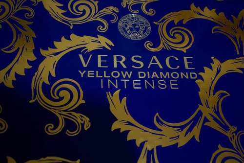versace yellow diamond set bag body lotion 100ml edp 90ml