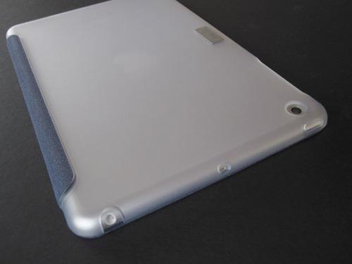versacover moshi, ipad air 1. gris con transparente hielo.