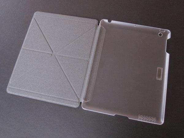 buy popular eb18c 03238 Versacover Moshi, iPad Air 1. Gris Con Transparente Hielo.