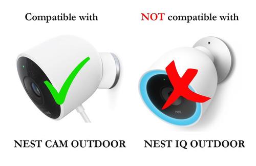 versatile twist mount para nest cam al aire libre, flexible