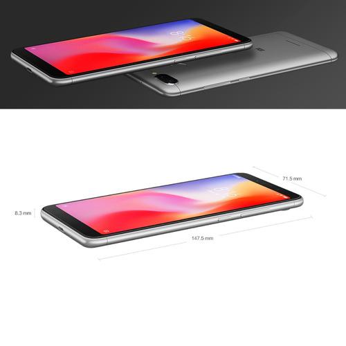 versión global xiaomi redmi 6 4g móvil teléfono 4gb ram 64gb