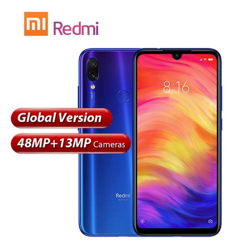 versión global xiaomi redmi note 7 teléfono móvil pantalla