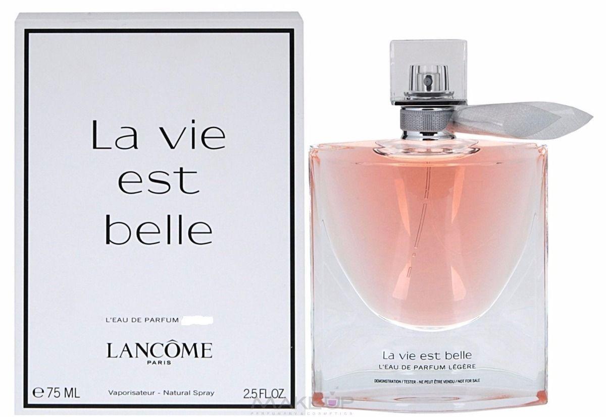 7741aa7108 Características. Marca Lancôme  Nome do perfume Versão Tester La Vie Est  Belle Feminino L´eau de Parfum ...