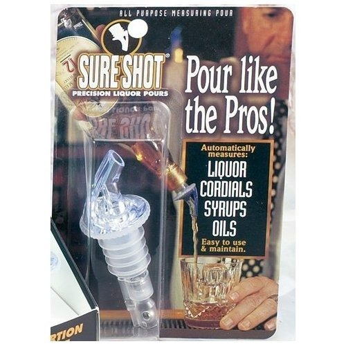 vertederos de vinosure shot 3-ball medido licor vertedor ..