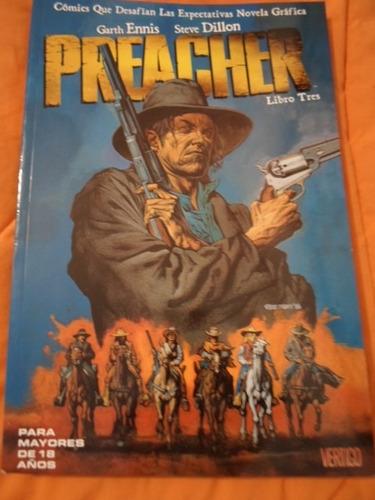 vertigo comics preacher predicador tomo 3 latino completo